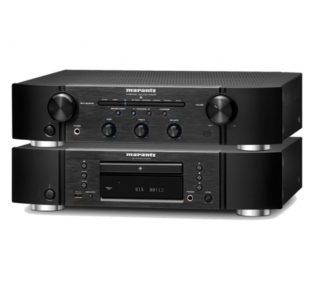 Marantz PM6006 + CD6006 Svart