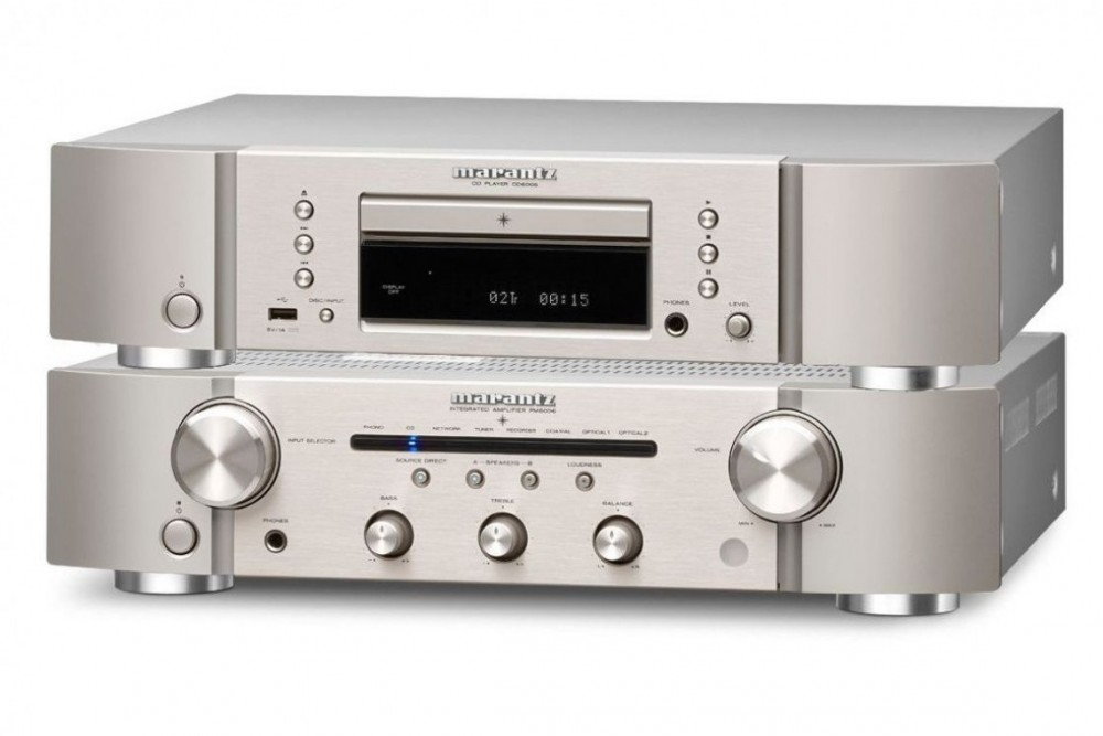 Marantz PM6006 + CD6006 Silver