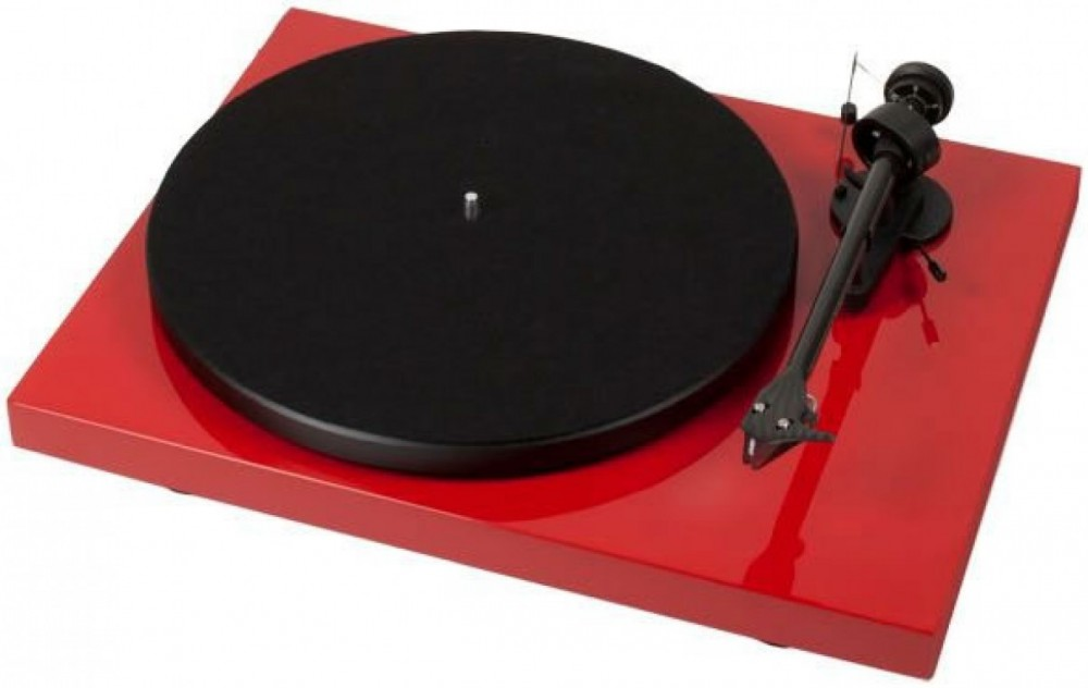 Pro-Ject Debut Carbon DC 2M Red Röd High Gloss