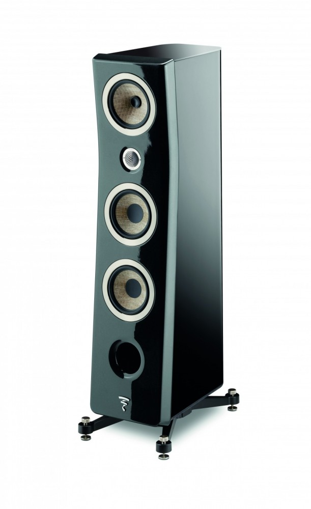 Focal Kanta No2 Black / Black High Gloss