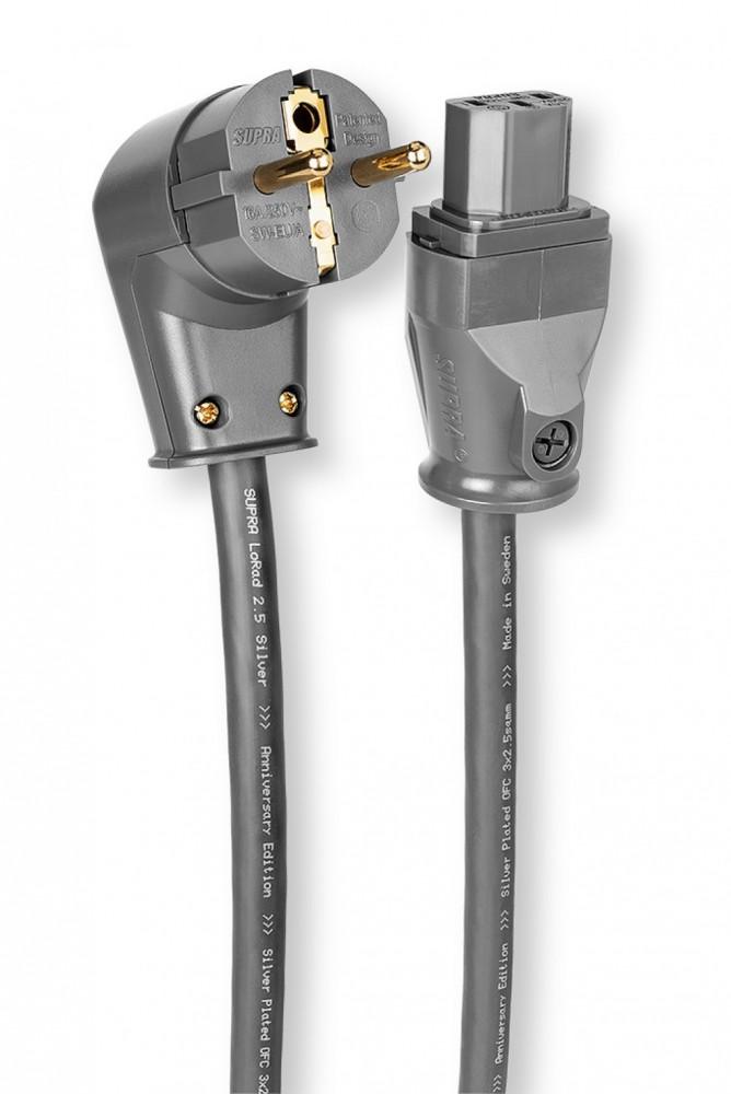 Supra Cables LORAD 2.5 SPC CS-EU/ANGLED