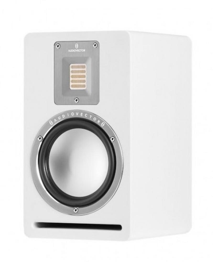 Audiovector QR1 Vit sidenmatt