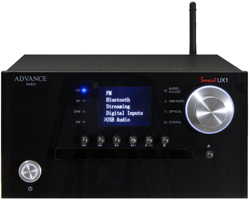 Advance Acoustic UX1 Svart