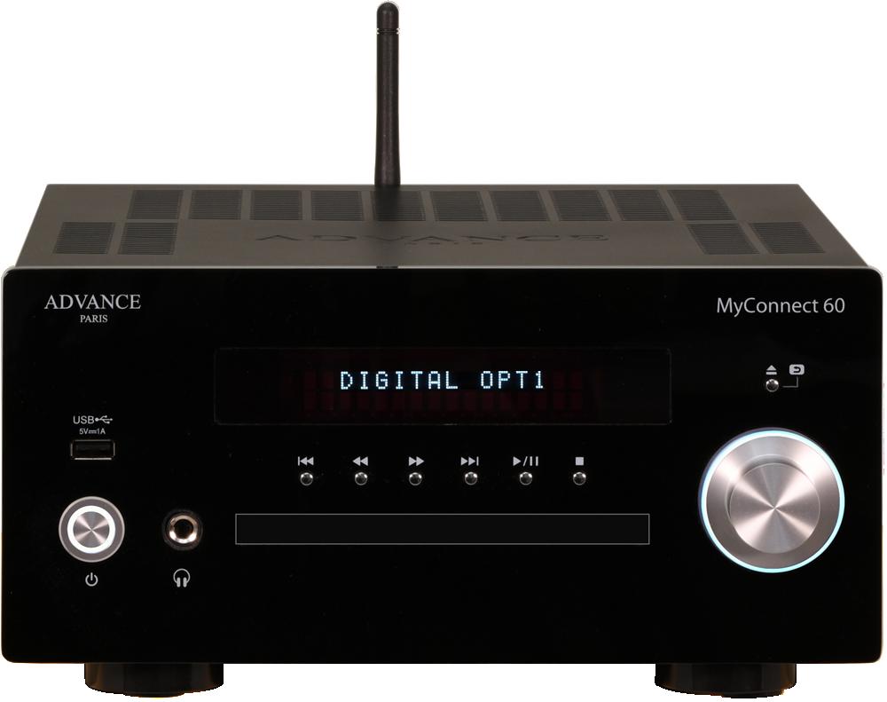 Advance Acoustic MyConnect 60 Svart
