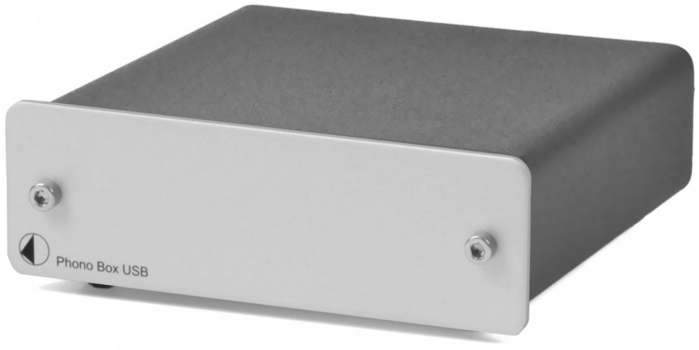 Pro-Ject Phono Box USB Silver