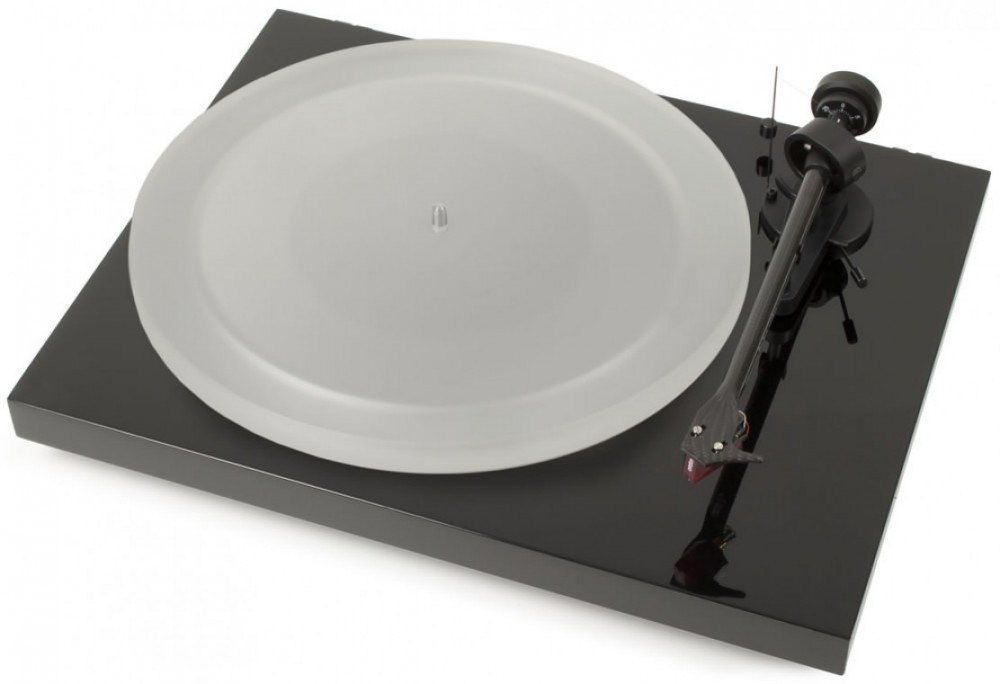 Pro-Ject Debut Carbon Esprit DC Svart High Gloss