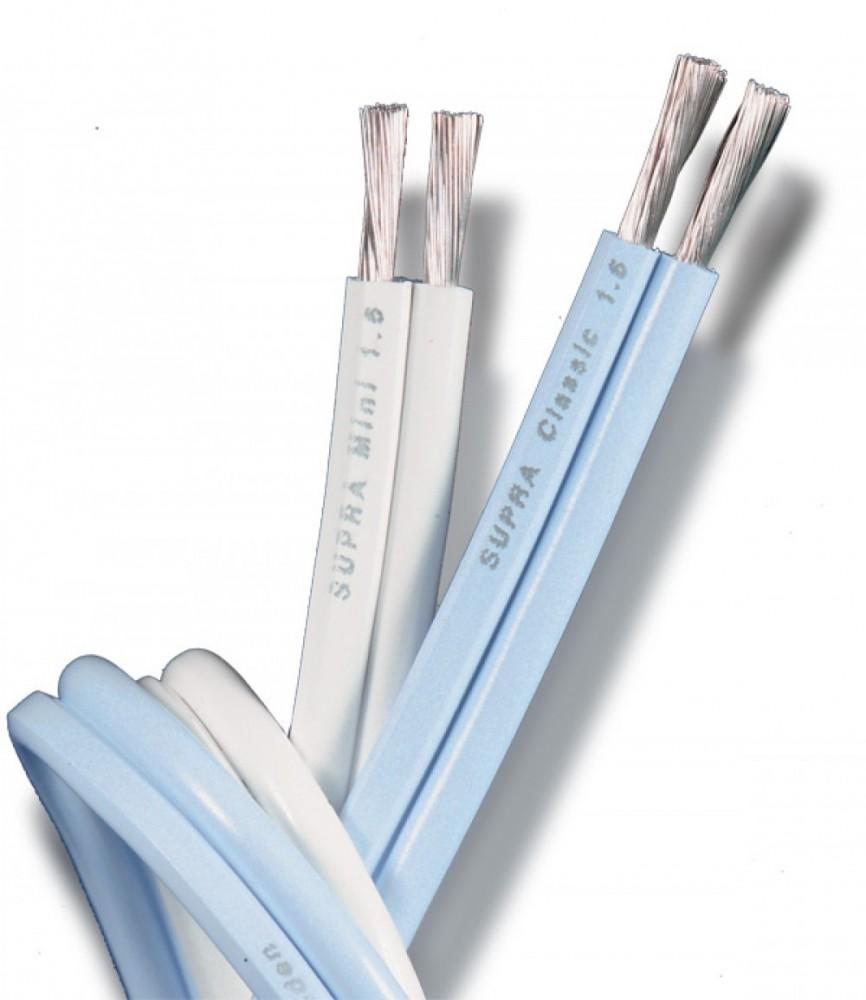 Supra Cables Classic 1.6mm vit