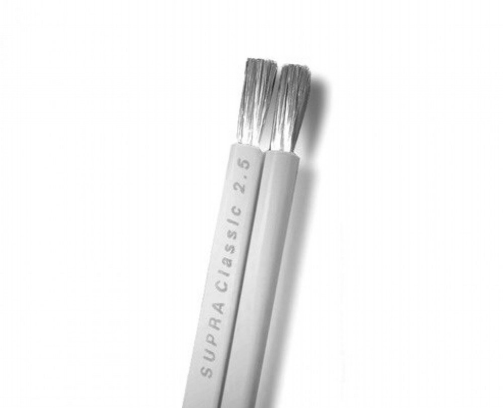 Supra Cables Classic 2.5mm vit